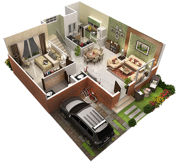 Modern Row House Plans: Row Houses In Sarjapur Road,Bangalore For Sale